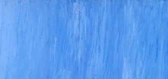 tła błękitny ręka malujący papier Obrazy Stock