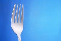 tła błękitny rozwidleń stół Obraz Stock