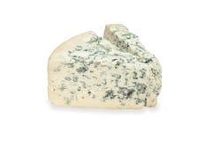 tła błękitny sera kawałka biel Obraz Royalty Free