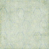tła błękitny zieleni błękitny Paisley tekstura Fotografia Royalty Free