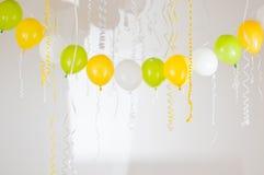 tła balonów przyjęcie zdjęcie royalty free
