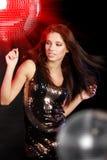tła balowy dancingowy dziewczyny lustro zdjęcia royalty free
