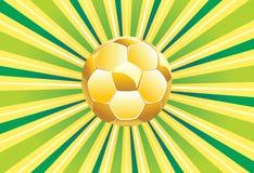 tła balowy komputerowej grafiki zieleni piłki nożnej wektor Zdjęcie Royalty Free