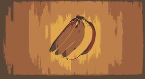 tła bananowi bananów okręgi ciący Obrazy Royalty Free