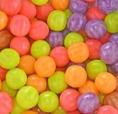 Tła barwiony guma do żucia round zdjęcie royalty free