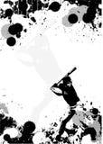 tła baseballa plakat Obraz Stock