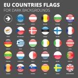 tła Belgium Berlaymont Brussels budynku prowizi europejczyk zaznacza kwatery główne zrzeszeniowe Obraz Royalty Free