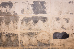tła beton pękająca rocznika ściana Fotografia Royalty Free