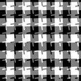 tła bezszwowy geometryczny Abstrakcjonistyczny powtarzalny monochromu pa royalty ilustracja