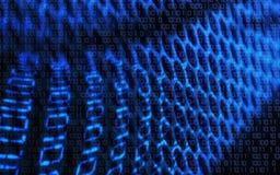 tła binarna eps ilustracja zawierać technologii wektor Pojęcie - binarny, technologia, kod, sieć, cyfrowa Obraz Royalty Free
