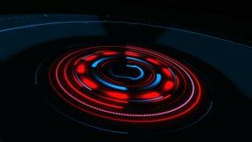 tła binarnego kodu ziemi telefonu planety technologia Fantastyka naukowa futurystyczny statek kosmiczny HUD ilustracji