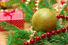 tła bożych narodzeń świąteczny nowy rok Obrazy Royalty Free