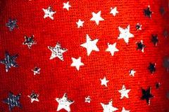 tła bożych narodzeń czerwieni gwiazdy Fotografia Stock