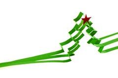 tła bożych narodzeń ilustraci papieru czerwieni drzewo Obraz Royalty Free