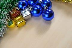 tła bożych narodzeń nowy rok Zdjęcie Stock
