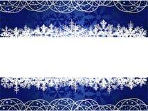 tła bożych narodzeń płatek śniegu Zdjęcia Royalty Free