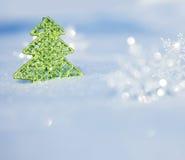 tła bożych narodzeń projekta śniegu drzewna zima twój Zdjęcia Stock