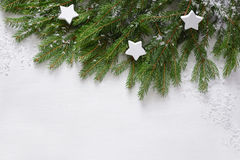 tła bożych narodzeń projekta wzoru bezszwowa prosta zima Fotografia Royalty Free