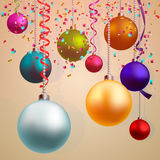 tła bożych narodzeń szczęśliwy wesoło nowy rok Obrazy Stock