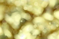 tła bożych narodzeń złoty światło fotografia stock