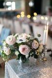 tła boutonniere karty wystroju dekoraci zaproszenia perły róże target2134_1_ biel dekoraci kolor żółty wewnętrzny tasiemkowy ślub Obrazy Stock