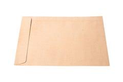 tła brąz dokumentu kopertowy biel Obraz Royalty Free