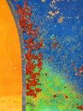 tła brąz zieleni rdza zdjęcie stock