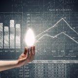 tła brainstorming biznesowy bizneswomanu leek target1104_0_ target1105_0_ wysokiego główkowanie w górę wzroku target1110_0_ biel Zdjęcie Stock