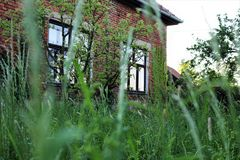 tła cegły domu struktury biel fotografia stock