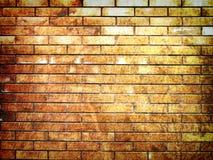 tła ceglana grunge cześć res ściana Obraz Stock