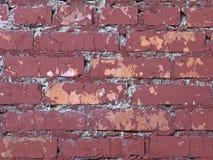 tła ceglana stara czerwieni ściana Obrazy Stock