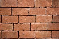 tła ceglana tekstury ściana z bliska Fotografia Stock