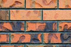 tła ceglanej czerwieni ściana Obrazy Stock