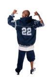 tła chłodno hip hop mężczyzna biel potomstwa zdjęcie royalty free