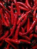 tła chili gorący pieprze czerwoni Obrazy Stock