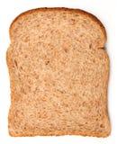 tła chlebowego brąz odosobniony biel Obrazy Stock