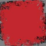 tła ciemna grunge czerwień Zdjęcia Royalty Free