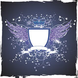 tła ciemny emblemata grunge retro Zdjęcia Royalty Free