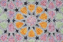 tła colour dekoraci geometryczne płytki Obrazy Stock
