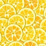 tła cytryny pomarańcze bezszwowa Zdjęcia Royalty Free
