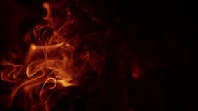 tła czarny czerwieni dym swobodny ruch zbiory