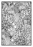 tła czarny karcianego projekta kwiatu fractal dobrego ogange plakatowy biel Obraz Stock