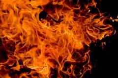 tła czarny płomieni rozwidlenia zdjęcia stock