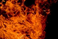 tła czarny płomieni rozwidlenia zdjęcie stock