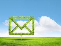 tła czarny pojęcia czarny emaila odbicia tekst trzy Zdjęcie Stock