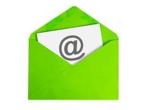 tła czarny pojęcia czarny emaila odbicia tekst trzy Obraz Stock