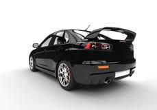 tła czarny samochodowego projekta oryginalni sporty biały Zdjęcie Royalty Free