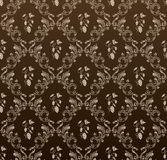 tła czarny winogron bezszwowa rocznika tapeta Zdjęcia Royalty Free