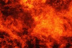 tła czerń ogień odizolowywający Obraz Stock