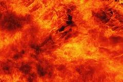 tła czerń ogień odizolowywający Obraz Royalty Free